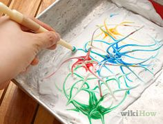 Paint Marbled Paper Using Shaving Cream Step 4.jpg