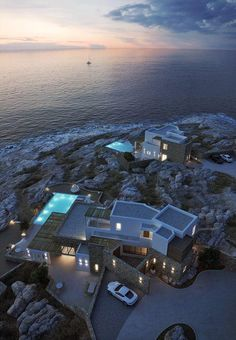 Villas in Mykonos, Greece