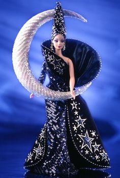 barbie goddess dolls | Bob Mackie Moon Goddess Barbie Doll (Release Date: 1/1/1996) - Limited ...