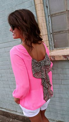 Neon + Leopard = Perfection <3