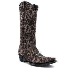 "Old Gringo 13"" Nadia Boot in Snow Furia at Maverick Western Wear"