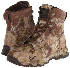 Ariat Men's Fps Kryptek Waterproof Lace-Up Hunting Boot Round Toe