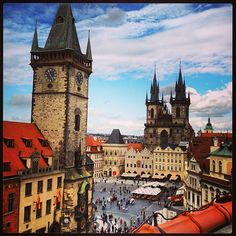 Praha! Aka Story-book city! It is 1,100 years old and feels like another world. Sites to see: Prague Castle, the Charles Bridge, Old Town Square, the Jewish Quarter, and Petřín hill