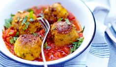 Recette Boulettes de cabillaud au safran en sauce tomate - recettes Les plats - Picard