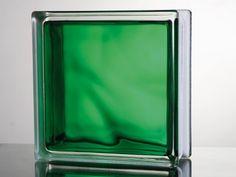 VETROMAT. IN-COLORED GREEN 19X19X8
