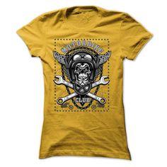 motorbike club T-Shirts, Hoodies. Get It Now ==> https://www.sunfrog.com/LifeStyle/motorbike-club-Yellow-Ladies.html?id=41382