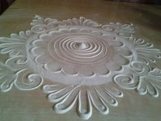 Rangoli Patterns, Rangoli Designs, Hobbies And Crafts, Arts And Crafts, Paper Crafts, Diwali Craft, Kolam Rangoli, Diwali Decorations, Magic Carpet