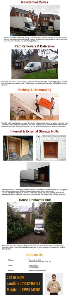 Removals Hull have expertly trained staff with years of experience packing fine china & delicates. Removals Hull can also unpack once your removal is complete. Need furniture dismantling and/or re assembling? Don't worry Removals Hull can do this for you.