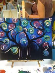 1000 images about whimsy art on pinterest twists for Painting with a twist greenville sc