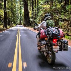 Please allow me to take you on a short tour of the It is difficult to describe the immense beauty. Motorcycle Camping, Motorcycle Style, Motorcycle Adventure, Adventure Gear, Adventure Tours, Dr 650, Europa Tour, Solo Camping, Biker Gear