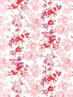 AMI Fine Decor Wallpaper - the prettiest of pink wallpapers! #floralwallpaper #pinkwallpaper #homedecor #wallpaper