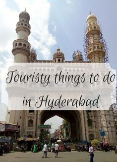 Here are some touristy things to do in Hyderabad - the Golgonda fort, Charminar and Salar Jung museum . city sighteeing in hyderabad Travel Destinations In India, India Travel Guide, Amazing Destinations, Asia Travel, Solo Travel, Travel Guides, Travel Tips, Travel Log, Travel Advice
