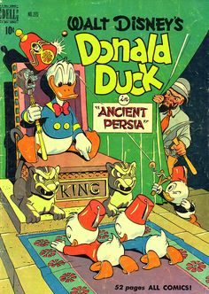 Walt Disney's Donald Duck in Persia comic book (1950)