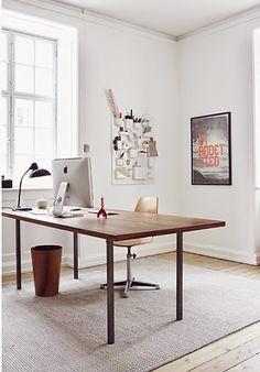 stylish workplace