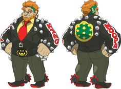 "sugarkillsall: snailofapproval: humanized bowser concept oh my god yes this is perfect :""D Super Mario Bros, Super Mario Kunst, Super Smash Bros Characters, King Koopa, Character Art, Character Design, Snail Art, Nerd Art, Vanellope"