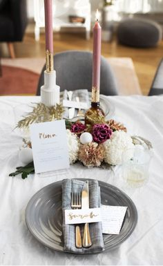 DIY New Year's Eve Table