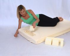The mattress topper has inserts that can be easily removed to adjust the hole to the size that you need. Surgery Recovery, Breastfeeding, Mattress, Bed Pillows, Outdoor Blanket, Breast Feeding, Pillows, Baby Feeding, Mattresses