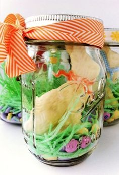 Beautiful easter decorations leave it to martha marthastewart 2015 easter egg mason jar decoration diy 2015 easter gift ideas handmade 2015 easter negle Gallery