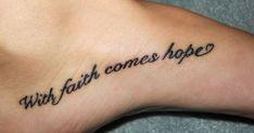 Love feet tattoos