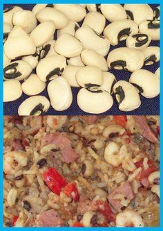 Blackeye Pea rice Rice Dishes, Black Eyed Peas, Stuffed Mushrooms, Vegetables, Nice, Food, Stuff Mushrooms, Essen, Vegetable Recipes