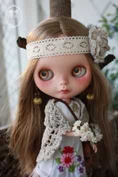OOAK Custom Blythe Doll for Adoption. | Flickr - Photo Sharing!