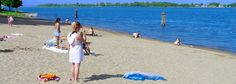 Marine City, Michigan - Google Search, Our nice beach in Waterworks Park.