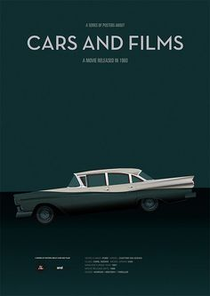Psycho car movie poster art print A3 Cars And by CarsAndFilms