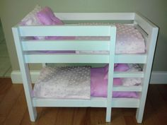 Bunk Beds For American Girl Doll Furniture 18 Doll By AllysDolls, $125.00