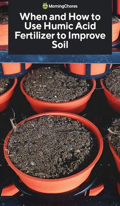 The overuse of compost that has not aged well can imbalance your soil pH. Using humic acid fertilizer can correct this, but read the pros and cons first. Organic Soil, Organic Fertilizer, Garden Soil, Garden Paths, Garden Art, Garden Ideas, Compost Soil, Humic Acid, Composting At Home
