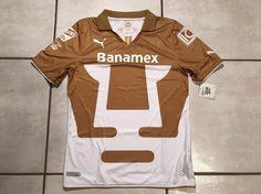NWT PUMA Pumas Unam 2013/2014 Soccer Jersey Men's Medium    eBay