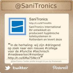 In de herhaling: wij zijn #dringend op zoek naar een nieuwe #collega voor de #functie #technisch #medewerker/#monteur http://sanitronics.eu/vacatures.html