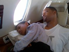 Willow and Will Smith. This is just too adorable. Reminds me of my relationship w/ my dad! Any boy-o-boy does she look just like him! TOO cute!