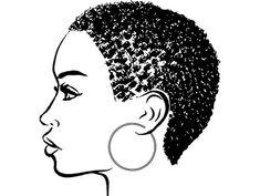 no bake cookies recipe \ no bake cookies Black Girl Art, Black Women Art, Black Art, Art Girl, African American Art, African Art, Black Woman Silhouette, Afro Art, Vector Clipart
