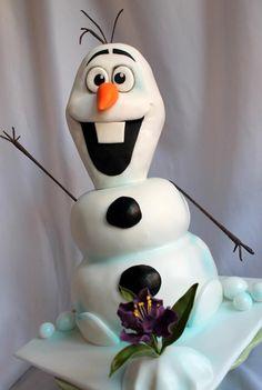 Frozen Olaf Cake @J O Bignell @Alyssa Pellicciotta @Desiree Nechacov Nechacov McKay