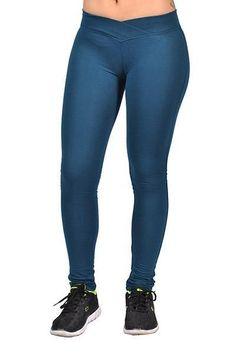C'est Toi Junior Plus-size stretchy women's Cotton-Blend Leggings Navy
