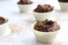 Chocolate Protein Mini Muffins - The Fit Foodie