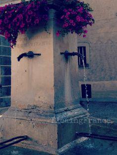 Village fountain-FleaingFrance