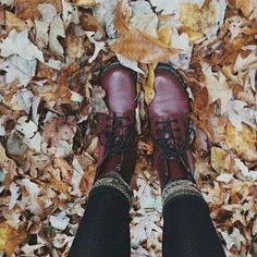 Image via We Heart It #autumn #fall #leaves