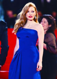 Jessica Chastain-Cannes 2014