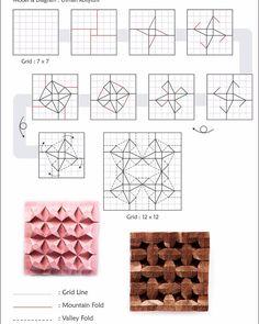 My challenge : 3D Ninja Star Tessellation. #origamitessellation #tessellation #origamiart #origami #paperfolding #papercraft #koi2 #kluborigamiindonesia #sethandmade
