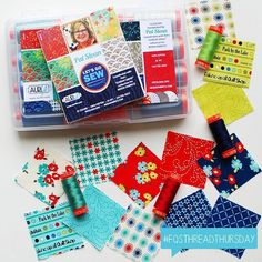 "265 Likes, 2 Comments - Kimberly & the FQS team (@fatquartershop) on Instagram: ""Let's Go Sew is Pat Sloan's newest collection for Aurifil thread that is matched to her Moda line,…"""