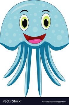- Cute jellyfish cartoon Royalty Free Vector Image Cute jellyfish cartoon Royalty free vector image T - Jellyfish Quotes, Jellyfish Facts, Jellyfish Tank, Jellyfish Drawing, Jellyfish Painting, Jellyfish Aquarium, Jellyfish Tattoo, Watercolor Jellyfish, Jellyfish Light