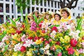 Мадейра цветок фестиваля, Фуншал, Мадейра, Португалия — стоковое фото