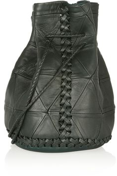 Wendy Nichol|Bullet patchwork leather bucket bag|NET-A-PORTER.COM