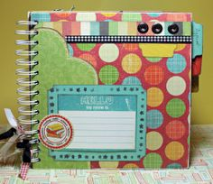 We R Memory Keepers Cinch tool is perfect for making your own mini albums, recipe books, and kids art books.