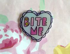 All pins are hand drawn by me on durable shrink plastic, so each pin is like an…