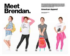 Viral YouTube star is now an American Apparel model