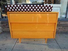 Designer Florence Knoll 3 Drawer Blonde Dresser or Changing Table Los Angeles by HouseCandyLA, $699.00