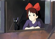 'Kiki's Delivery Service': Celebrating Hayao Miyazaki's Timeless First Coming of Age FIlm - movies Kiki Delivery, Kiki's Delivery Service, Studio Ghibli Art, Studio Ghibli Movies, Hayao Miyazaki, Anime Films, Anime Characters, Anime Character Names, Casa Anime