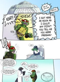 TMNT - Childhood Trauma by Myrling on DeviantArt